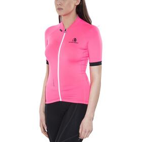 Etxeondo Maillot M/C Entzuna Fietsshirt korte mouwen Dames, pink/black